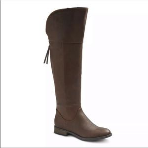 Women's Mossimo Arwan brown boots size 7.5